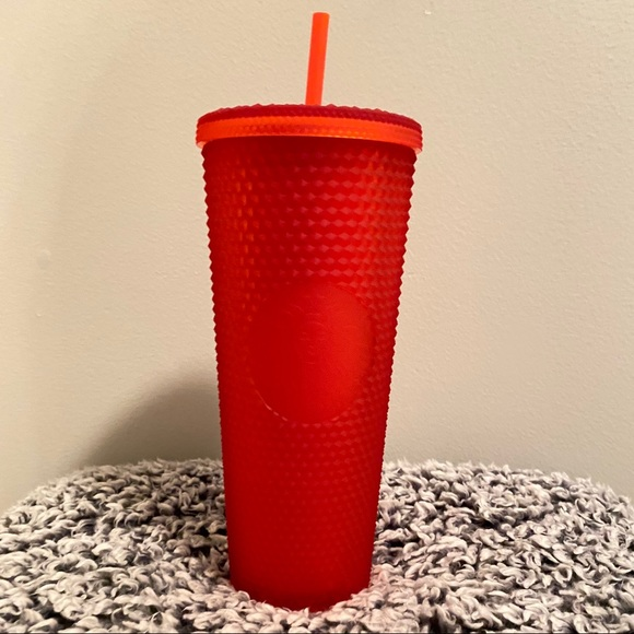 Starbucks 2021 Red Studded Tumbler ❤️